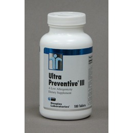 Ultra Preventive III Daily Vitamin Supplement for MTHFR