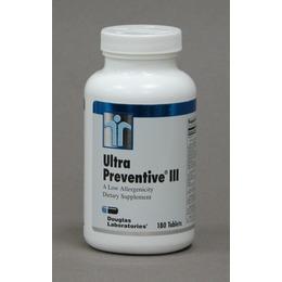 Ultra Preventive III Daily Vitamin Supplement