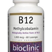 Bioclinic Naturals Methylcobalmin B12 Supplement 1000 mcg