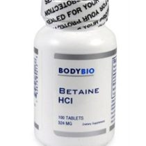 BodyBio Betaine HCL Supplements