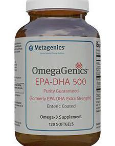 Omegagenics Omega 3 Fatty Acid Supplement