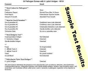 Gi Pathogen And Parasite Test