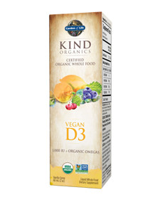 Kind Organics Vegan Vitamin D from Algae