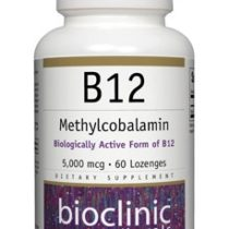 Bioclinic Naturals Methylcobalamin 5000 mcg supplement