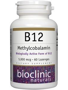 Methylcobalamin B12 Supplement 5000 mcg