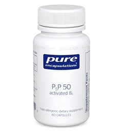 pyridoxal 5' phosphate or P5P or Activated B6